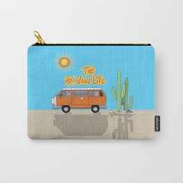 The Van Life (Desert Vers.) Carry-All Pouch