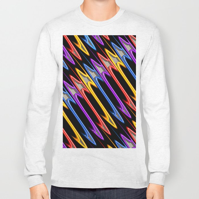 Abstract Perfection 32 Long Sleeve T-shirt