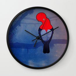 Tunki (Rupicola peruvianus) Wall Clock