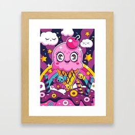 Sugar High: Sprinkles 2 Framed Art Print