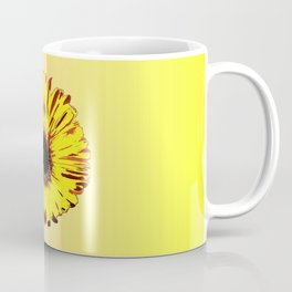 Sunflowers, electric orange, yellow pink Coffee Mug