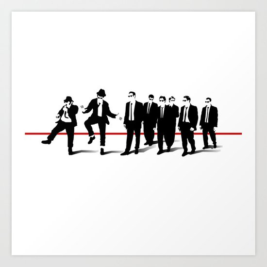 Reservoir Brothers Art Print