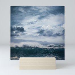 He inoa wehi no Hookipa  Pacific Ocean Stormy Sea Mini Art Print