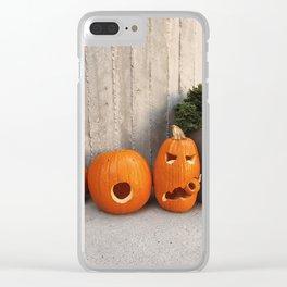 halloween friends Clear iPhone Case