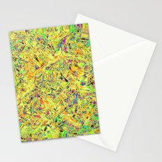 Abstract RR QQF Stationery Cards