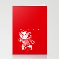 bucky Stationery Cards featuring Steamboat Bucky by Aaron Bowersock
