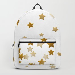 Falling Stars - Gold Marble Backpack