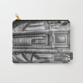 Pulpit in Black and White Carry-All Pouch