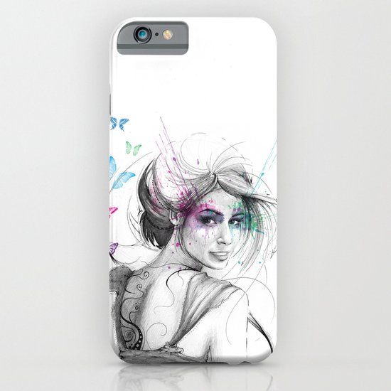 Butterflies iPhone & iPod Case