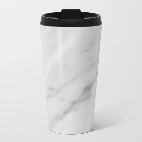Real Marble 017 Metal Travel Mug