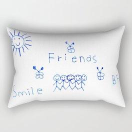 Best Friends Forever! Rectangular Pillow