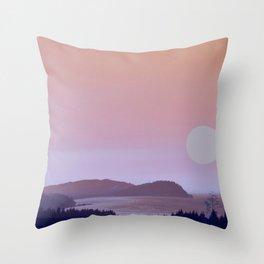 WASHINGTON COASTLINE Throw Pillow