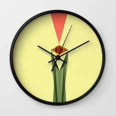 Lord of the Rings Minimal Film Poster Wall Clock