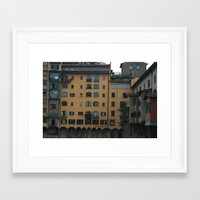 florence Framed Art Prints featuring Florence by constarlation