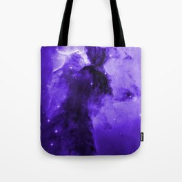 Eagle Nebula Ultraviolet Tote Bag
