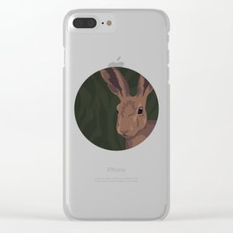 Leporidae Clear iPhone Case