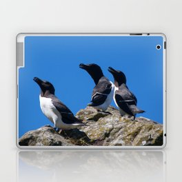 Ninjas in feathers Laptop & iPad Skin