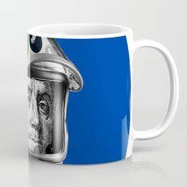 Crypto Benjamin | Astronaut Cyber Space Miner Coffee Mug