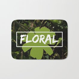 Floral Rainforest Bath Mat