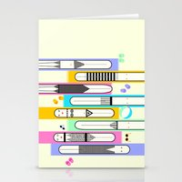 suits Stationery Cards featuring swim suits  by filipa nos campos