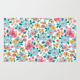 Ditsy Floral Rug