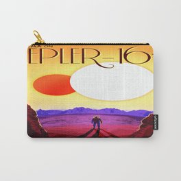 Vintage poster - Kepler-16b Carry-All Pouch