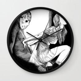 asc 563 - Le rite de passage (The prom night) Wall Clock