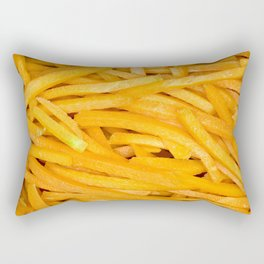 Vegetable Series -Fry Cut Carrots- Rectangular Pillow