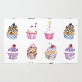 Cupcake Parade Rug