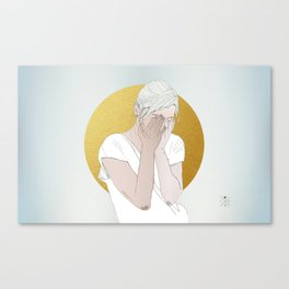 OUR INVENTIONS (Rest Your Head) Canvas Print