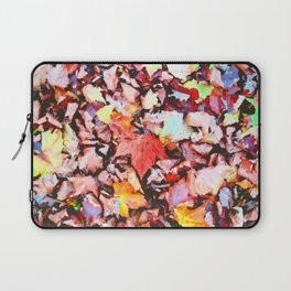 Maple foliage texture Laptop Sleeve