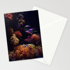 tropical sea Stationery Cards