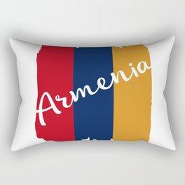 Flag of Armenia #society6 #decor #buyart #artprint Rectangular Pillow