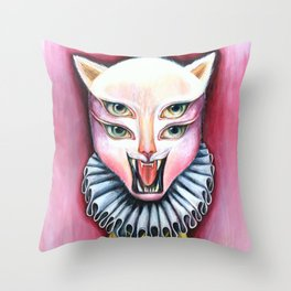 Cat | Vanity Throw Pillow