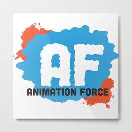Animation Force Logo Metal Print