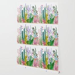 Succulent Happy Garden Wallpaper