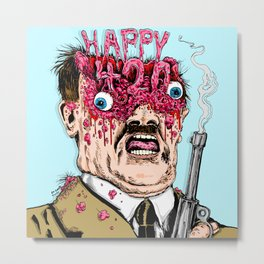 Happy 420 Metal Print