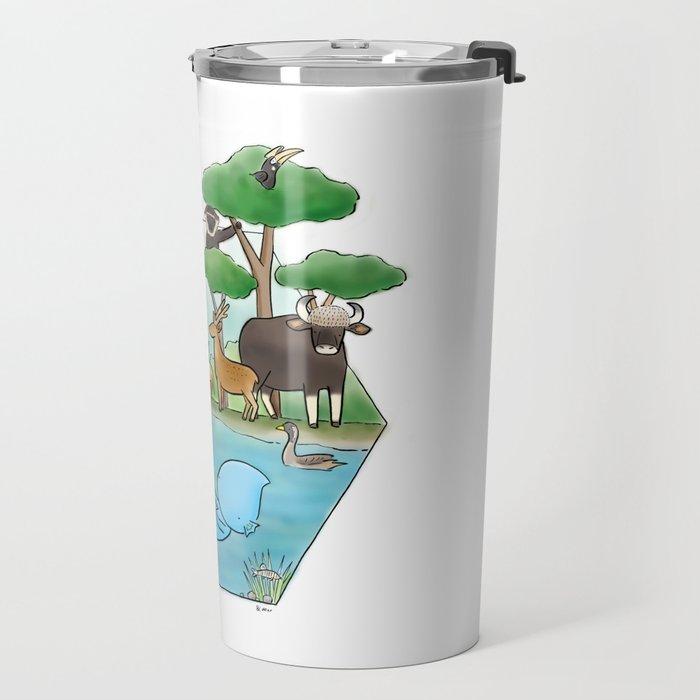 wildlife of cambodia Travel Mug