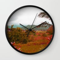 heaven Wall Clocks featuring Heaven by Kakel-photography