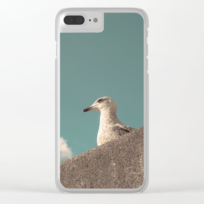Waiting for Summer Clear iPhone Case