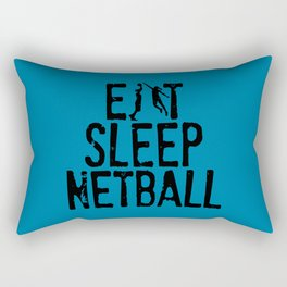 Eat Sleep Netball Rectangular Pillow
