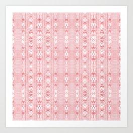 Mini Pretty Pink Patterns Art Print