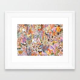 Bug-Catching Framed Art Print