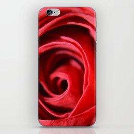 Red Rose iPhone Skin