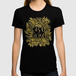That's Life – Gold on Gold T-shirt