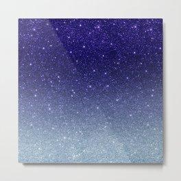 Ombre glitter #14 Metal Print