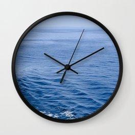 She Fell in Love on the Vast Wild Sea Wall Clock