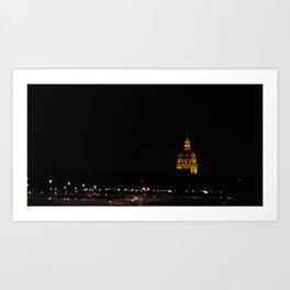 Paris City Luz Art Print