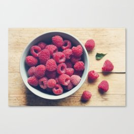 Sweet Red Canvas Print