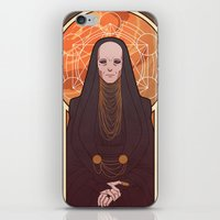 heymonster iPhone & iPod Skins featuring Reverend Mother by heymonster